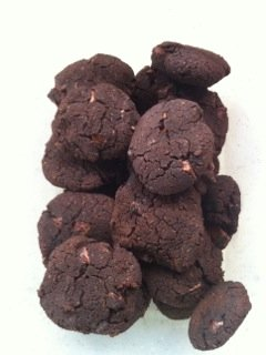 chickpea chocolate biscuits